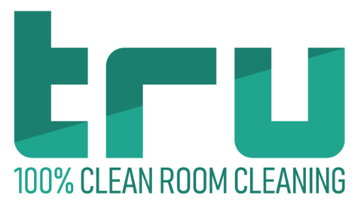 TRU clean room cleaning logo