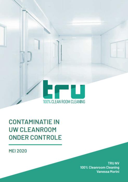cover whitepaper contaminatie in uw cleanroom onder controle